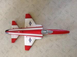 Caleb's new plane
